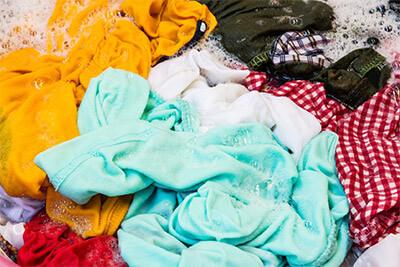 Welche Textilien eignen sich für Buntwaschmittel?
