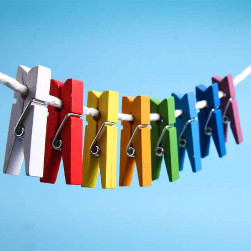 Wie wird Kleidung zum Trocknen richtig aufgehängt?